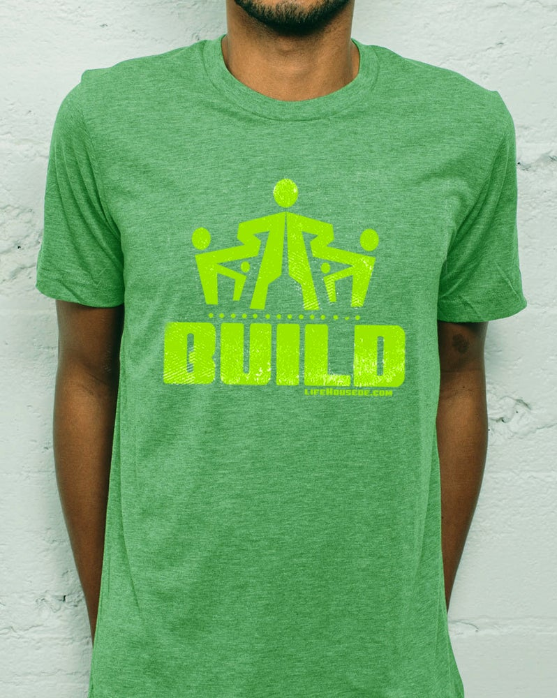 Image of Build - Green T-shirt