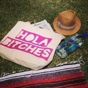 Image of Hola Bitches Canvas Tote