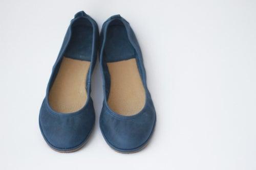 Image of Ballet flats - Eko in Navy Blue