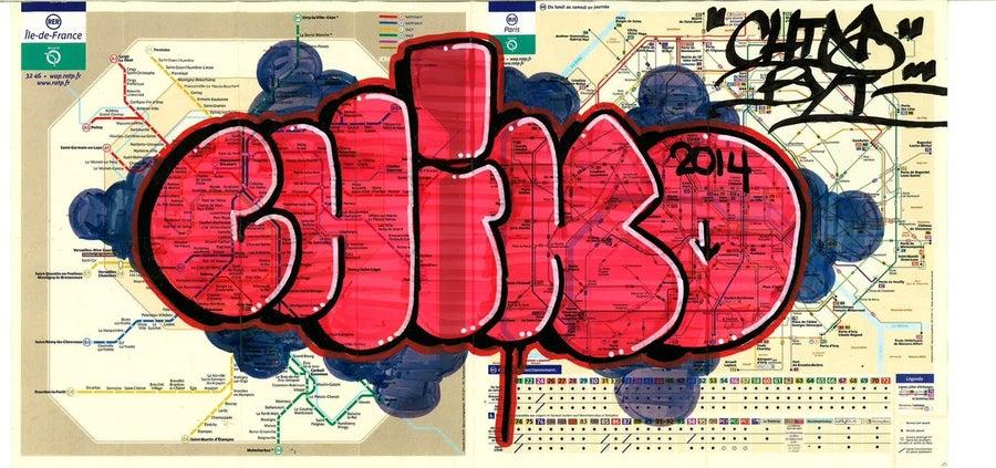 Image of Mini Metro Map : Chino Byi (2 of 2 )
