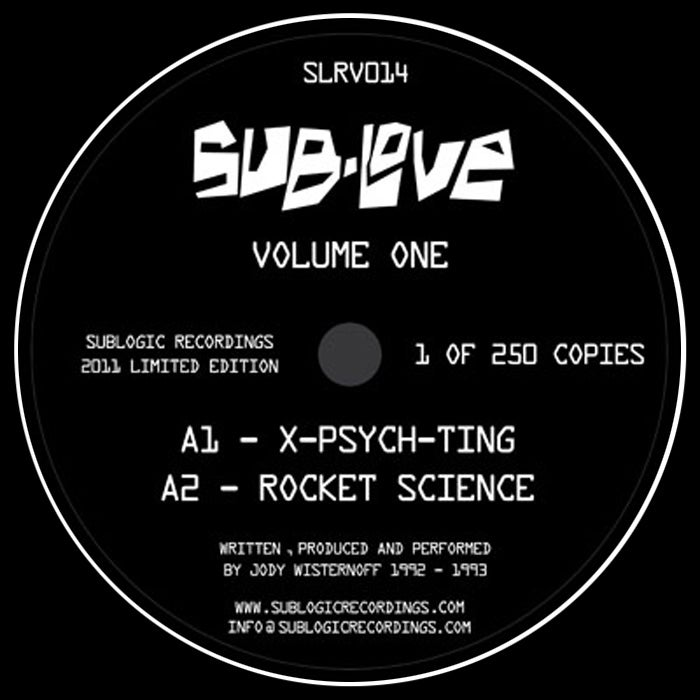 "Image of Sub Love - Volume 1 EP - SLRV014 - 12"" Vinyl - SOLD OUT"