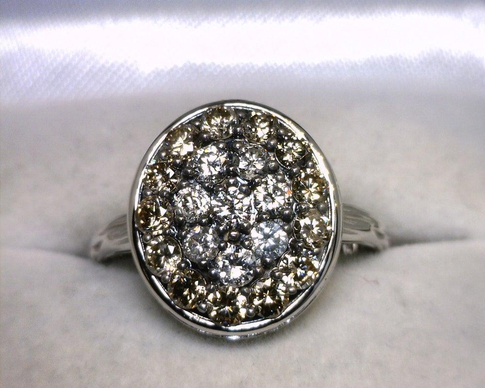 Image of 14K White Gold Diamond Ring 1.25CT