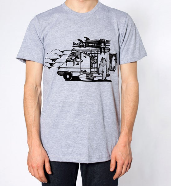 """Image of """"'Camper Van"""" Swallowtail Society T-shirt"""