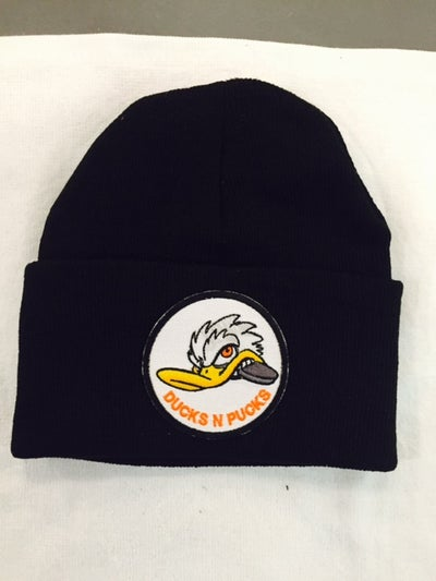Image of #DucksNPucks Beanies or Patch
