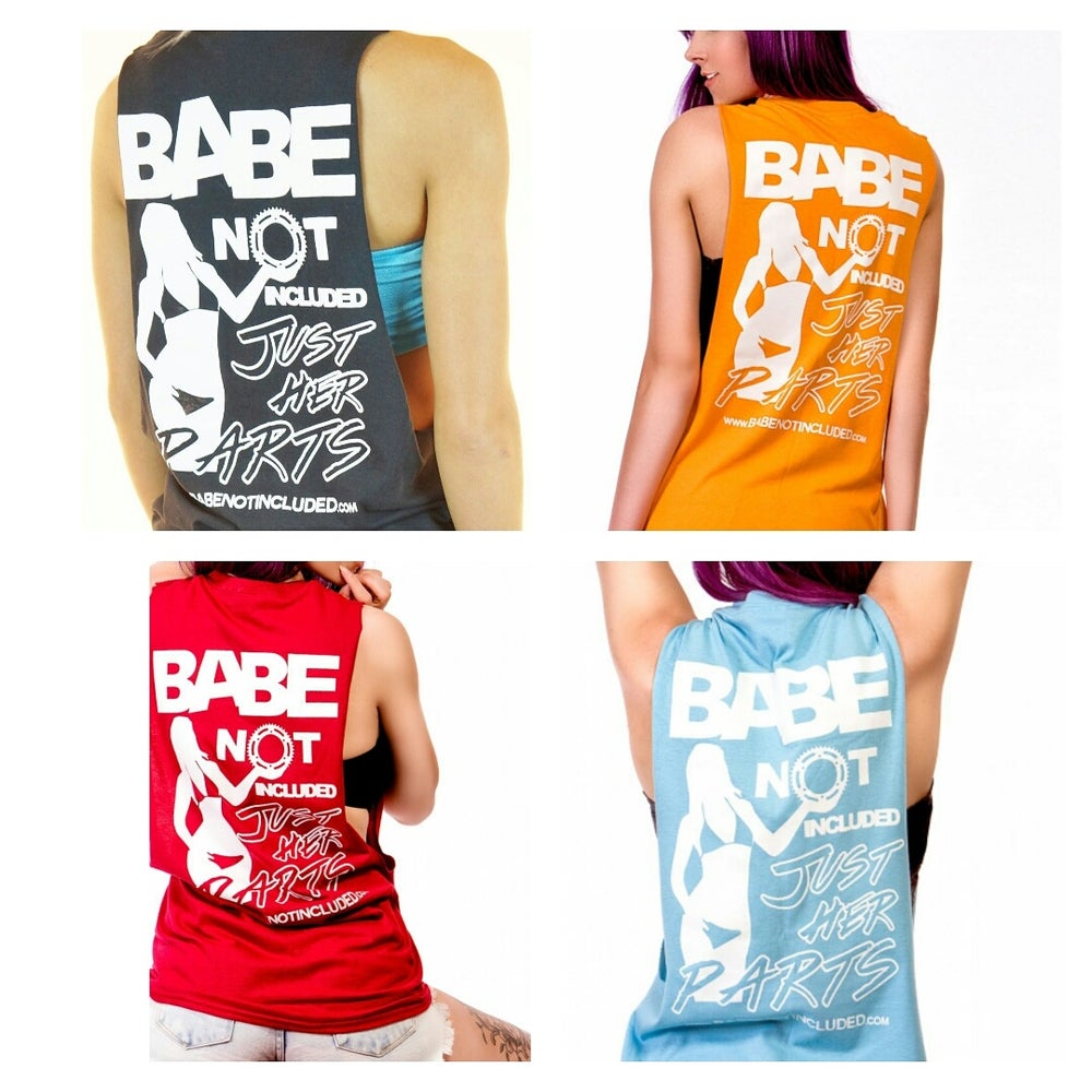 Image of Cut Off Tee Tanks (4 COLORS AVAIL.) FREE US SHIP!