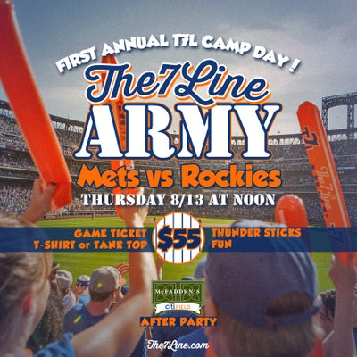 Image of The 7 Line Army (August 13th)