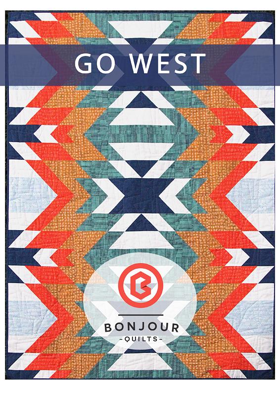 Image of Quilt Pattern PDF - Go West