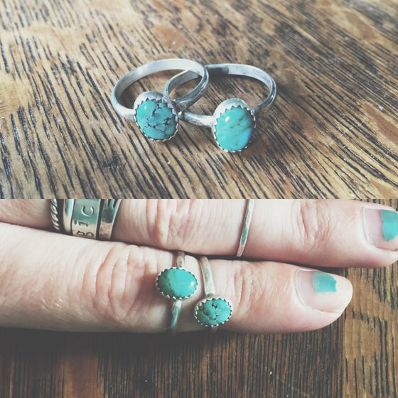 Image of Little Turquoise Ring
