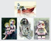 Image of Star Wars Postcard Set