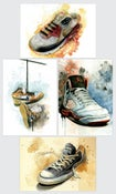 Image of Kicks Postcard Set