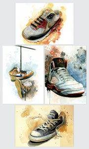 Image of Kicks Postcard Set
