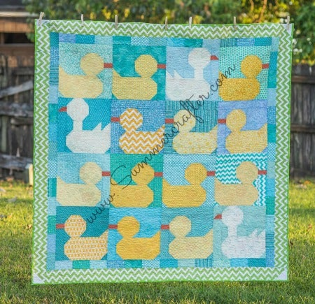 Image of Duck, Duck, Goose! - Quilt Pattern PDF Download