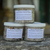 Image of Rose Geranium Lavender Bath Salts