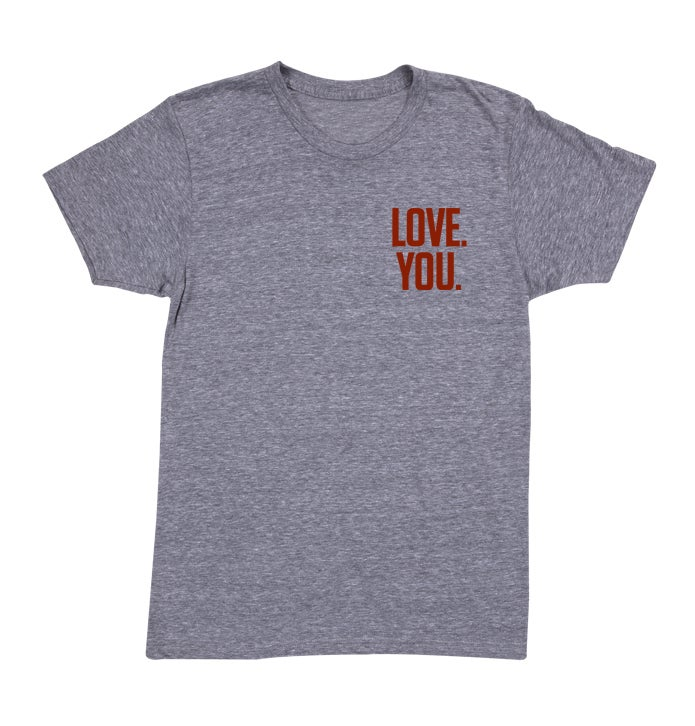 Image of Love. You. Tee (Athletic Grey)