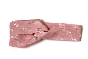 Image of Pink Satin Headband