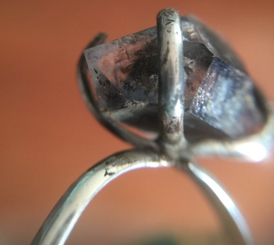 Image of Smoky Herkimer in Prong Setting