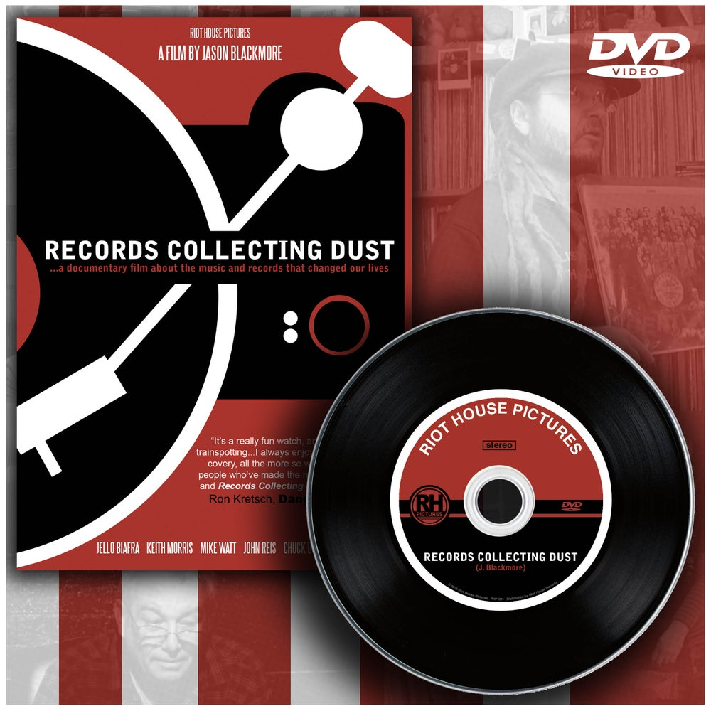 Image of Records Collecting Dust (DVD)