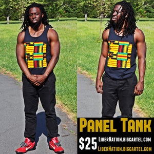 Image of Panel Tank Black