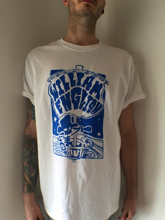Image of William English - Riffs Ahoy Tee - free cd
