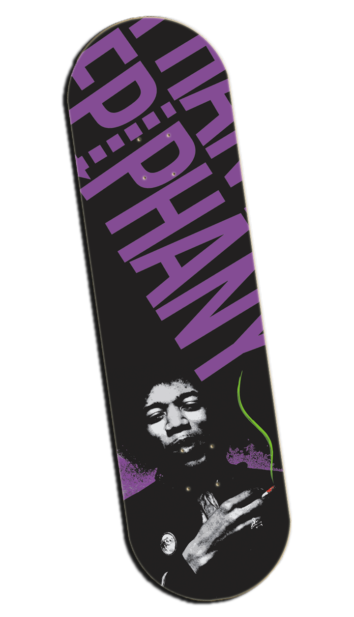 Image of 'Hendrix Commemorative' Deck