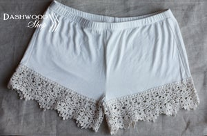 Image of Lace Detail Shorts Extender, Security Shorts