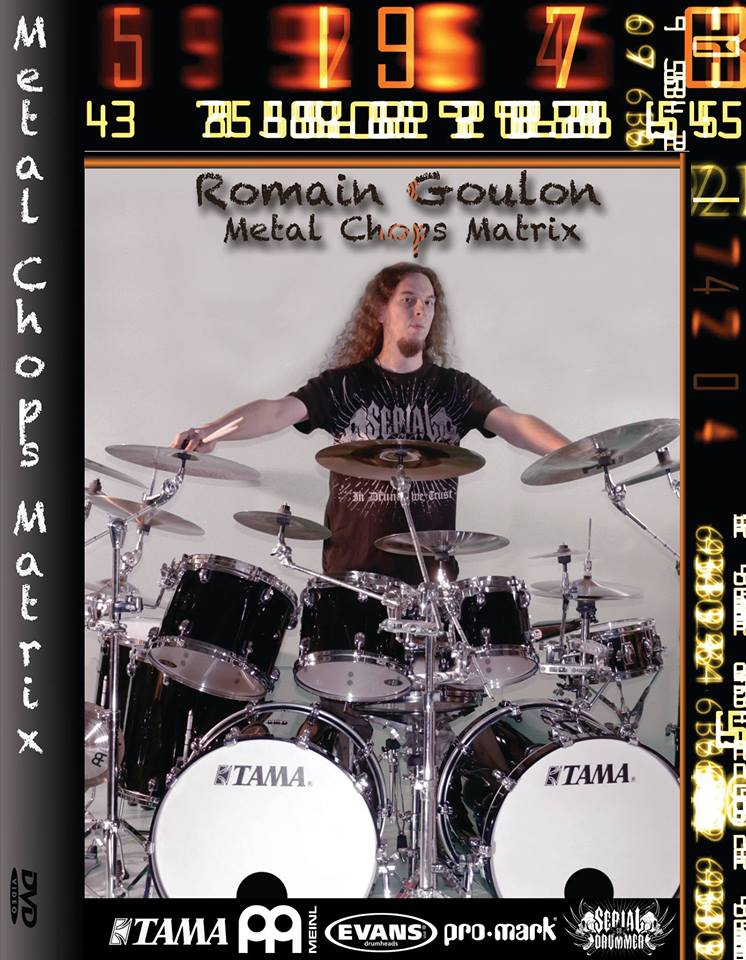 "Image of Romain Goulon DVD(PAL) ""Metal Chops Matrix"""