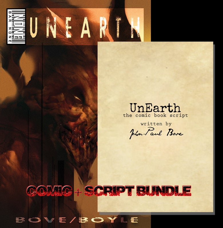 Image of UnEarth One Shot (Comic Book and Script Book)