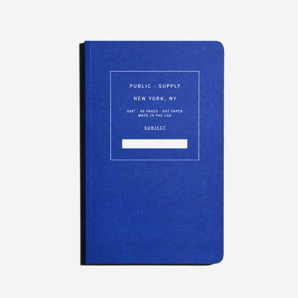 Image of Public Supply Notebook 02