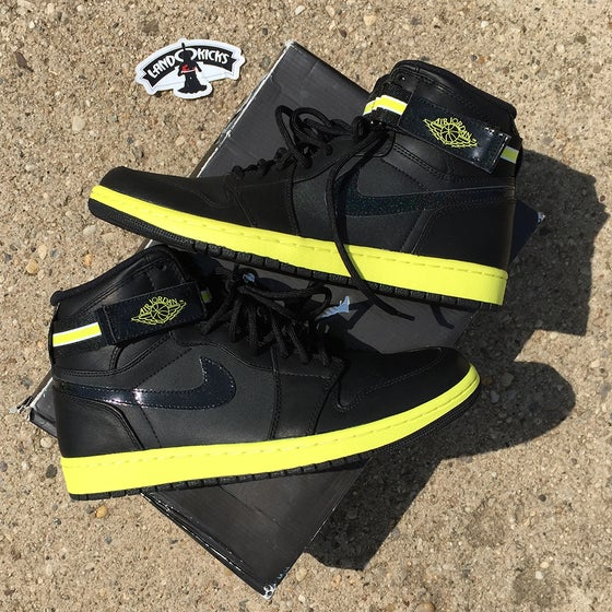 Image of Nike Air Jordan 1 High Strap 'Voltage Yellow'