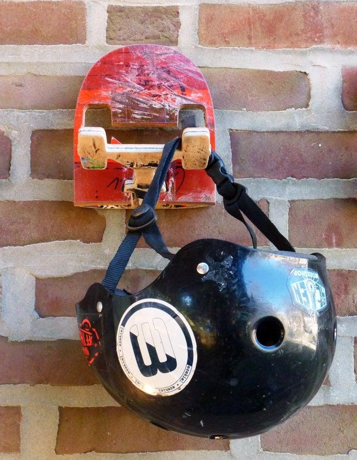 Image of SkateHook - Recycled Skateboard Wall Hook - Single