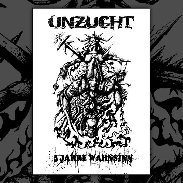 Image of Unzucht - Ltd. Edition Screen Print Poster