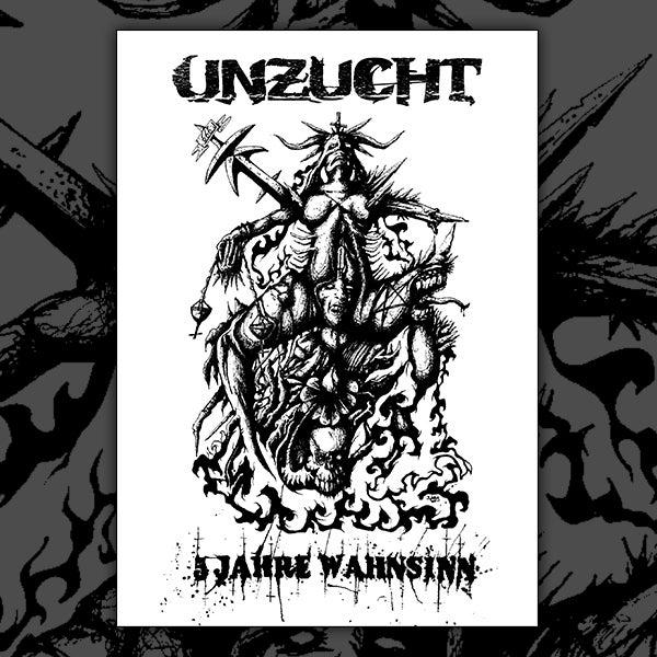 Image of Unzucht - Ltd. Edition Screen Print Poster