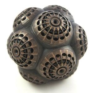 Image of Bronze Cold Casting Mini Sculpture - Mars Molecule 2