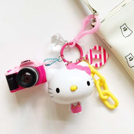 Image of Hello Kitty Keychain with Adorable Mix Charms