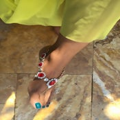 Image of Lady In Red Foot Accessory