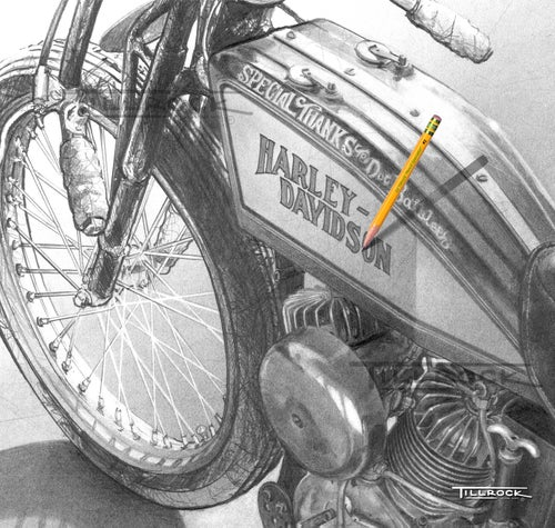 "Image of ""Brittney's '23 Board Track Racer"" 11x17 Print"