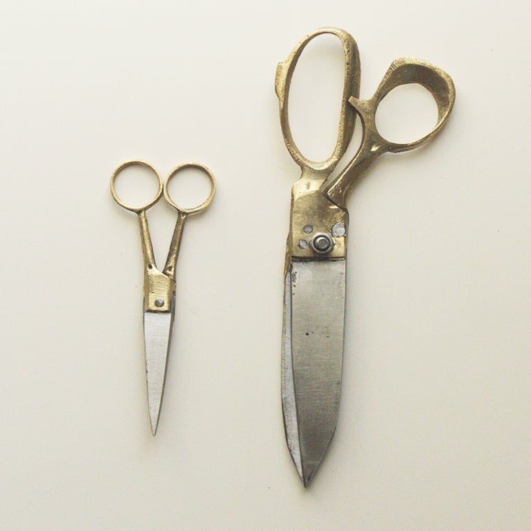 Image of Brass & Steel Scissors