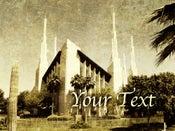 Image of Las Vegas LDS Mormon Temple Art 004 - Personalized LDS Temple Art