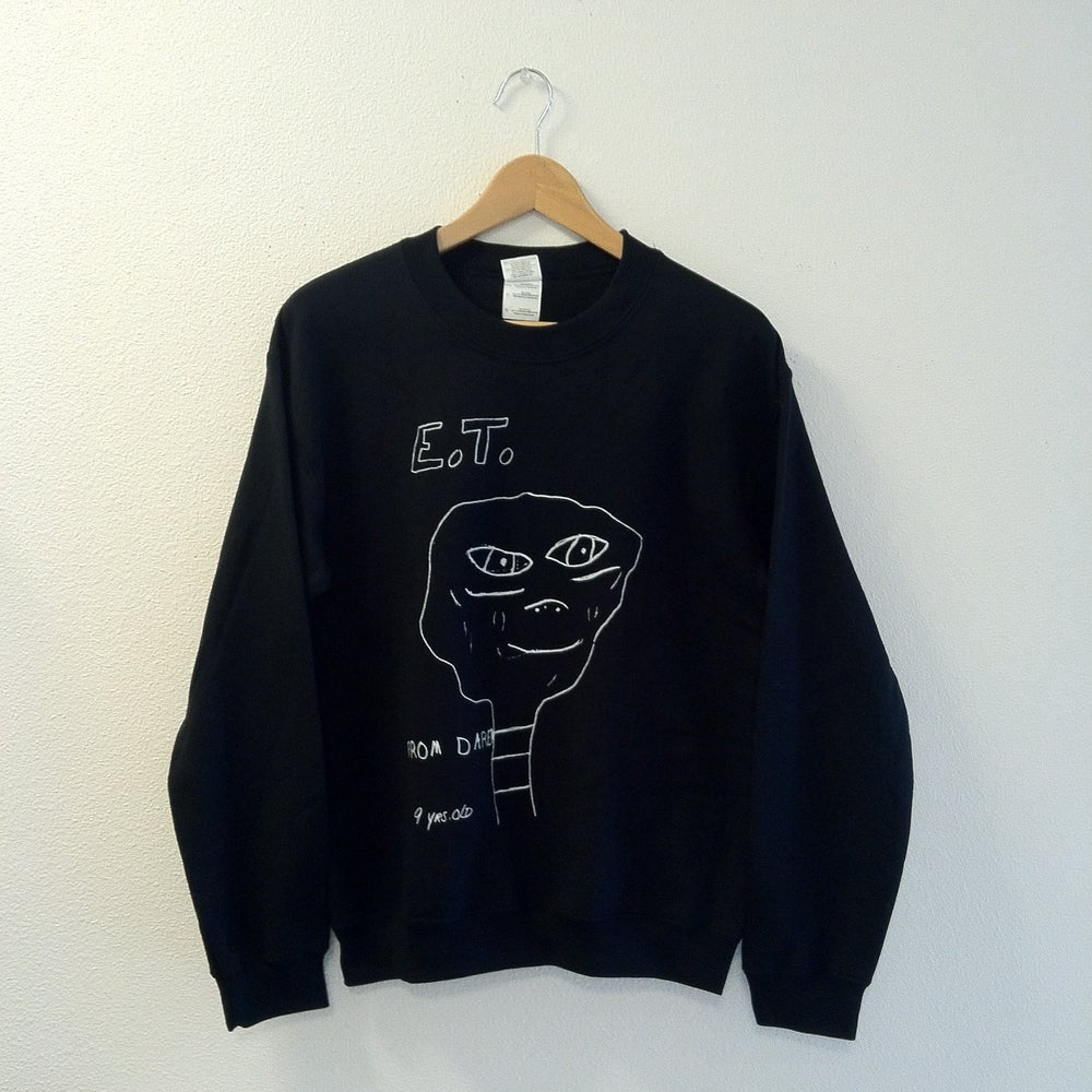 Image of Daren's Drawing Crewneck (black or heather grey)