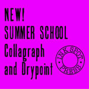 Image of NEW! SUMMER SCHOOL Collagraph and Drypoint. 10th. Aug. - 14th.  Aug. 2015. 5 days £350.00