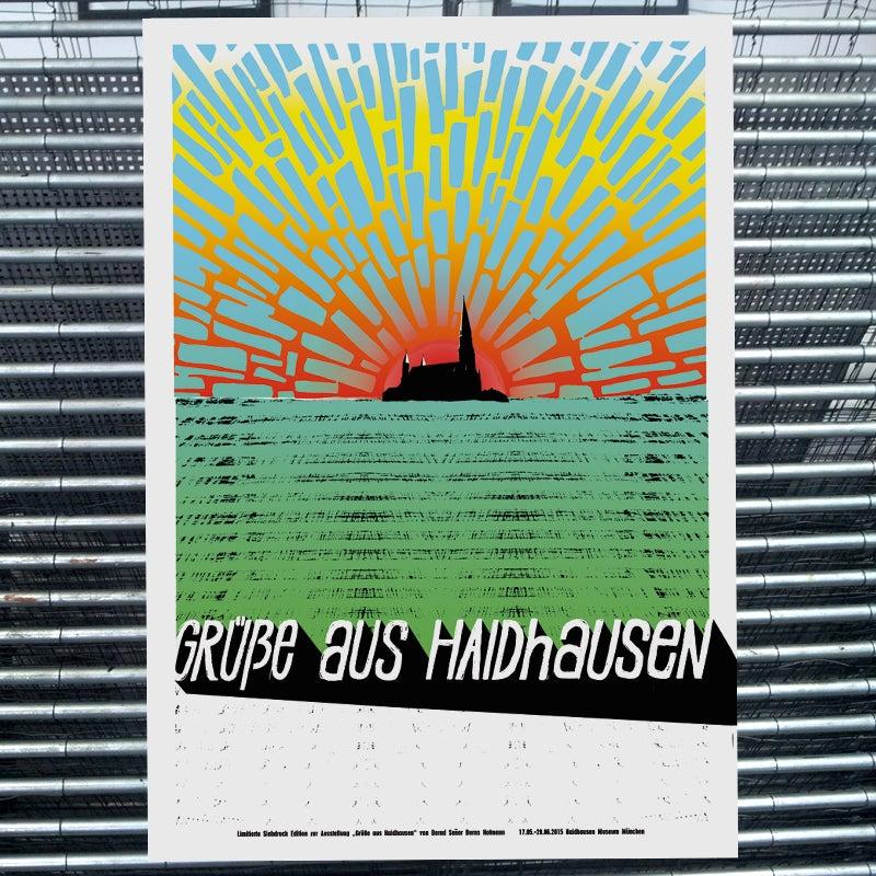 Image of GRÜßE AUS HAIDHAUSEN (art print)