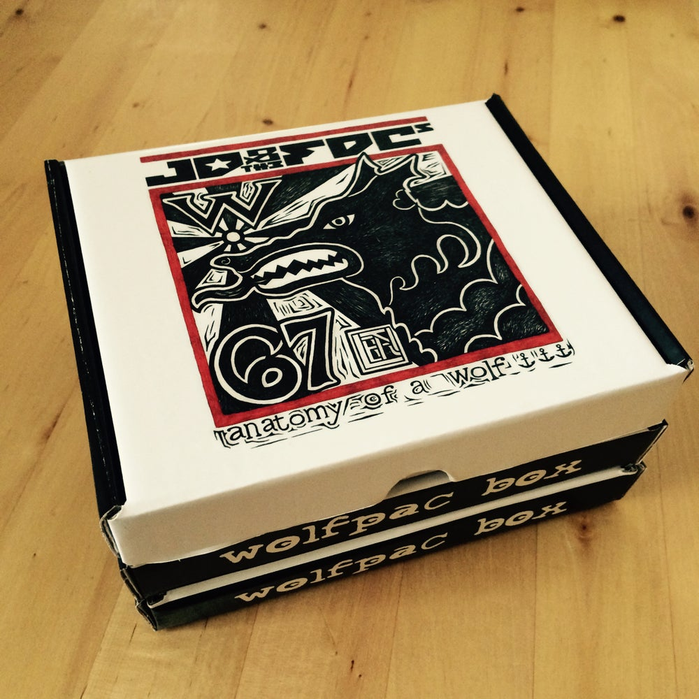 """Image of JD & the FDCs - Limited Edition """"Wolfpac Box"""""""