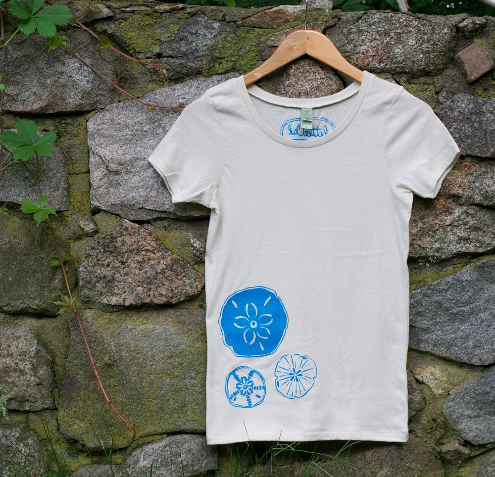 Image of Sand Dollars- Women's Organic Cotton Tee