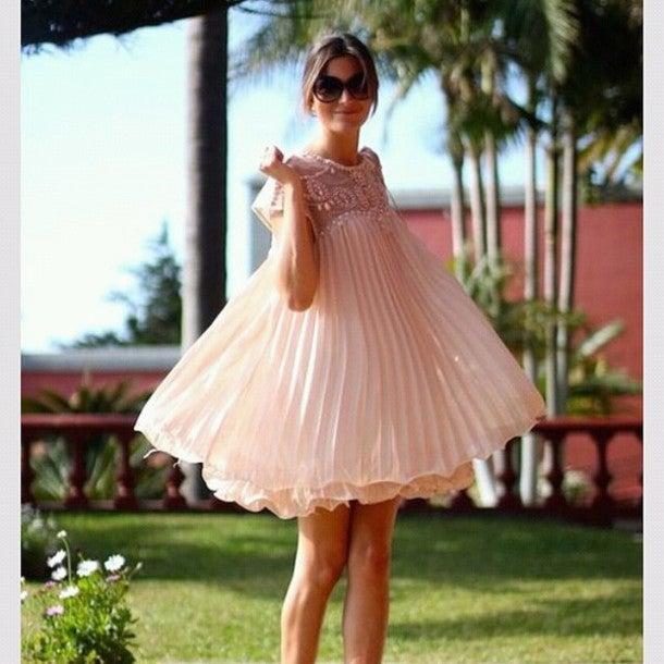 Image of FASHION RIVET SHINING CUTE DRESS