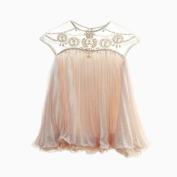 Fashion Rivet Shining Cute Dress Wantde