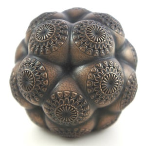 Image of Bronze Cold Casting Mini Sculpture - Mars Molecule 3