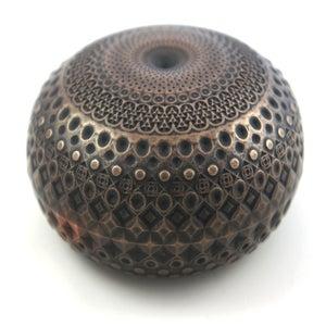 Image of Bronze Cold Casting Mini Sculpture - Tactile Torus
