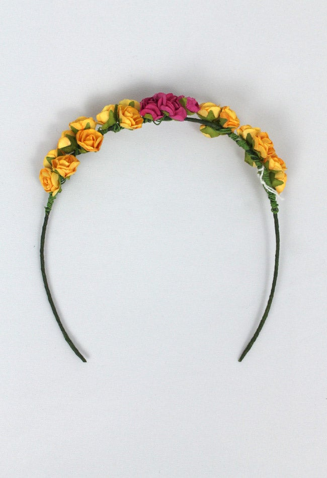Image of FLOWER HEADBAND 2