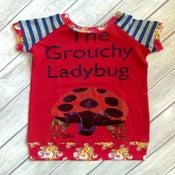 Image of Grouchy Ladybug tunic, size 3