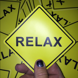 Image of Relax Sticker